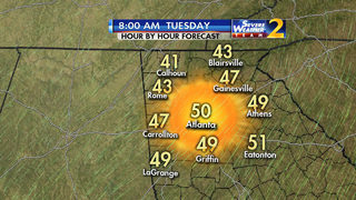 Some metro residents to wake up to temps in the 30s