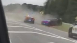 2 arrested after police stop high-speed chase down GA 400