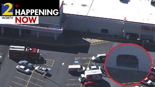 Driver slams into store at busy Cobb County shopping center