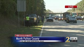 Tire flies off truck, killing another driver on Ga. 400