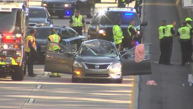 Tire flies off truck, killing another driver on Ga  400 | WSB-TV
