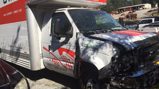 U-Haul crashes into packed Waffle House, driver bolts