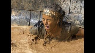 PHOTOS: Runners trek thru mud, fire in Spartan Race
