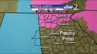 Freeze warning expanded to include portions of West Metro extending to North Metro