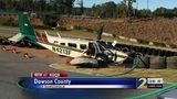 Pilot injured after emergency landing in Dawson County