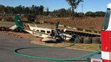 Plane makes emergency landing in Dawson County