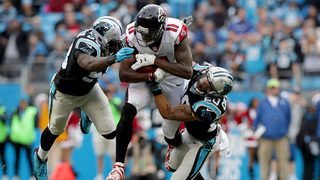 Falcons, Panthers prepare for division duel