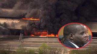 Man accused of I-85 bridge fire failed alcohol test, state says