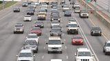 Cars in Atlanta traffic