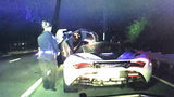 RAW: Alleged drunken driver arrested after going 155 mph on Ga. 400