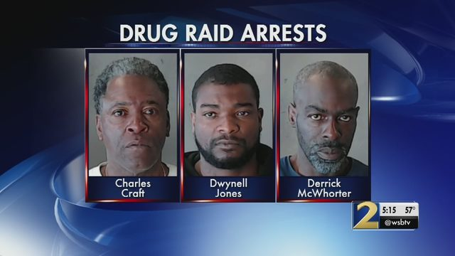 3 arrested in undercover raid in Chamblee neighborhood | WSB-TV