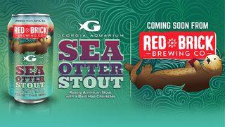 New beer celebrates Sea Otters at Georgia Aquarium