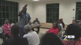 Residents address concerns after a string of crimes in their neighborhood