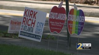 Local nonprofit recycles old campaign signs for fuel