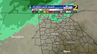 Cold front moves in this weekend; Rain expected