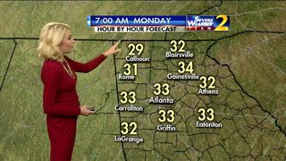 Breezy conditions to continue Sunday evening