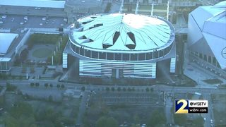 RAW VIDEO: Georgia Dome implosion from NewsChopper 2