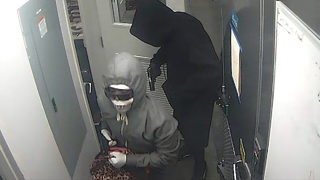 Surveillance video shows robbery at restaurant that left manager dead