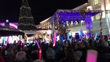 Countdown to tree lighting at Avalon