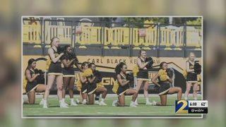 KSU violated guidance when keeping cheerleaders off field, regents board says