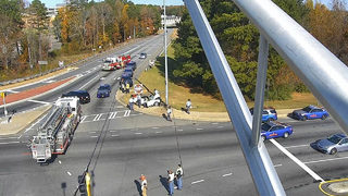 2 taken to hospital after chase ends on I-75 ramp
