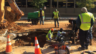 Homes, businesses without water for hours in NE Atlanta