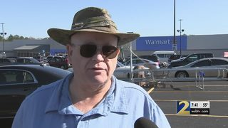 Disabled man says he was denied riding shopping cart at Walmart