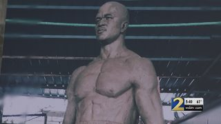 Mayor Reed announces new statue for Evander Holyfield