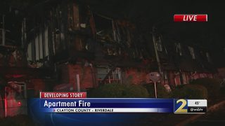 Complex a total loss after apartment fire