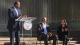 Mayor Kasim Reed and Evander Holyfield