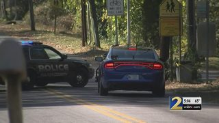 Shots fired at officers chasing suspected car thieves