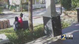 Black Volvo considered evidence in a string of burglaries in East Atlanta