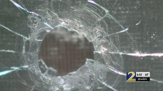 18-year-old shot in chest when stray bullets fly through apartment