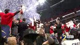 RAW VIDEO: UGA presented with SEC Championship trophy