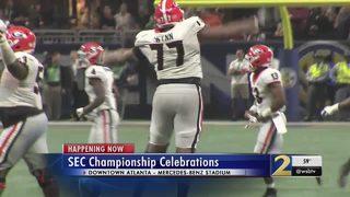 Georgia beats Auburn in SEC Championship