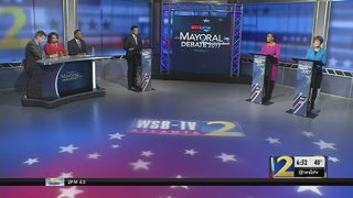 Atlanta mayoral runoff candidates face-off in debate