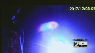 Dashcam video shows arrest of 2 UGA football players