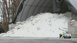 GDOT prepares roads for possible wintry mix in metro Atlanta
