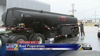 GDOT preparing roads ahead of possible winter weather