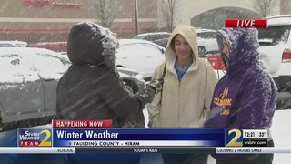 Paulding County students released from school early due to winter weather