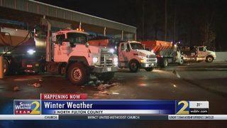 DOT crews on standby as black ice starts to cause problem across metro