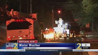 Cobb County ground zero for power outages from storm