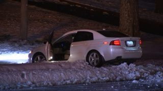 Icy roads, downed trees causing head aches