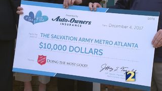 Salvation Army uses sweepstakes prize to support human trafficking victims