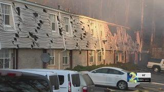 65 left homeless after fire destroys apartment building