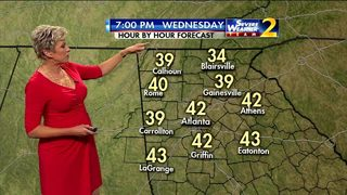 Cold morning to start Wednesday
