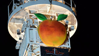 Peach Drop finds new home at Woodruff Park