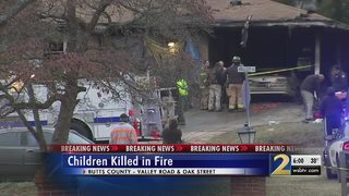 2 children killed, mother seriously burned in house fire