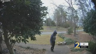 Police believe package thief hit several homes in Gwinnett County