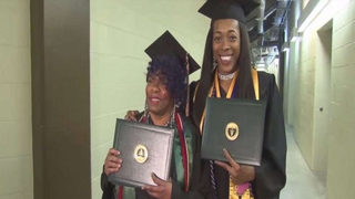 Grandma, granddaughter graduate from college together